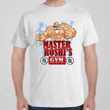 Cool T shirt  MASTER ROSHI'S GYM, Dragonball Z, Train Insaiyan, Goku workout