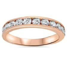 3/4ct 14K Rose Gold Diamond Wedding Anniversary Ring