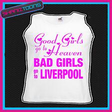 Chicas malas ir a Liverpool Gallina Fiesta Vacaciones Chaleco Top