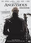 Anonymous Bilingual [DVD] 2012 Joely Richardson; Edward Hogg; Vanessa Redgrave