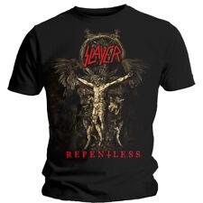 Slayer Cruciform Skeletal Shirt S-XXL Thrash Metal T-Shirt Official Band Tshirt