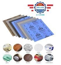 Wet Dry Silicon Carbide Waterproof Sandpaper Grit SANDING SHEET █FAST SHIP█