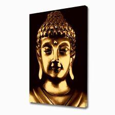 LARGE GOLDEN BUDDHA CANVAS ART PRINT 1735