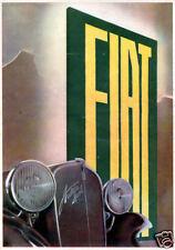FIAT-Ardita Sport-Calandra-grafica postfuturista-1935