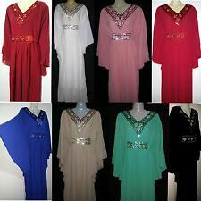 Maxi dress Kaftan Kimono Abaya Farasha Evening dress Butterfly Look free size