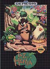 Taz-Mania (Sega Genesis, 1992)