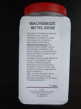 Wachsbeize Mitteleiche 8049  2 in 1 verdünnbar-mischbar im 1 Liter Gebinde