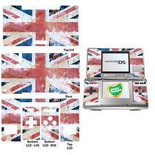 Gb-union JACK FLAG effetto anticato stile Vinile Autoadesivo per Nintendo DS Originale
