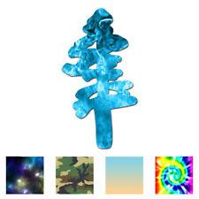 Pine Tree Art - Vinyl Decal Sticker - Multiple Patterns & Sizes - ebn527