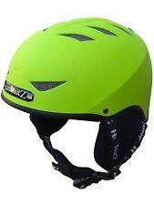 HardnutZ Ski Helmet Green Adult Snowboard New HN-101 Mens Ladies Unisex New