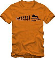 Reiter T-Shirt  Evolution Reitsport  verschiedene Farben DTG Druck