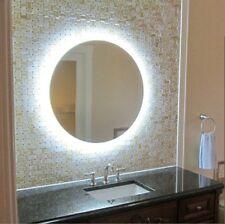 Espejo baño con luz led RGB 70cm, espejo iluminado led retroiluminado