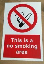 Señal de prohibición-Este es un área de no Fumadores Signos De Seguridad - 300x200mm