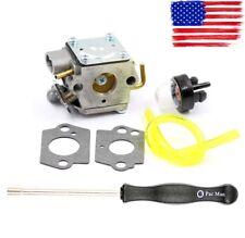 Carburetor + Gaskets + Primer Blub + Foot Fuel Line + Pac Man Adjusting Tool Kit