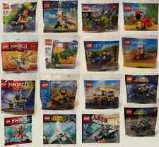 LEGO Polybags Star Wars CITY Ninjago Creator Disney Super Heroes. Your Choice