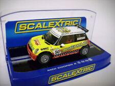 Scalextric BMW Mini Cooper S 50 años scalextric para autorennbahn 1:32 miniatura