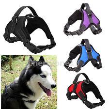 Extra Big Large Medium Dog Harness Pet Mesh Vest Adjustable Collar With Handle