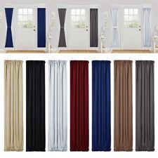 "1PC Energy Efficient Door Panel Window Curtain Blackout Drapes 25"" x 72"""