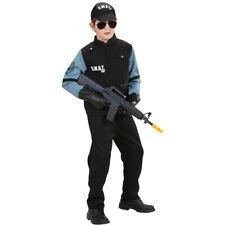 Polizeikostüm Kinder, SWAT Kinderkostüm, Spezialeinheit Polizist, Polizei Agent