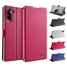 Flip Case Samsung Note 10 Magnet Cover Aufstellbar Ständer Schale Schutz Hülle