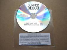 SURFER BLOOD - SWIM - VERY RARE 2 TRACK PROMO CD