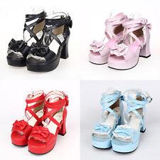 Gothic Goth Sweet Lolita Schuhe Shoes sandals Sandalen sandales sandali Cosplay