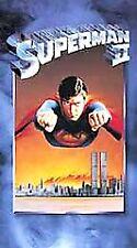 Superman II (VHS, 2001) BRAND NEW, SEALED...Gene Hackman...097