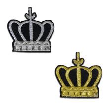 Aufnäher / Bügelbild - Krone König Prinzessin - mehrere Farben auswählbar – 4,5x