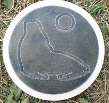 seal walrus sea ocean arctic stepping stone plastic garden casting mold mould