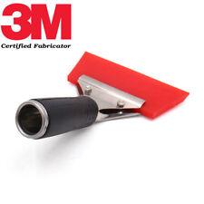 Gomma / Spatola morbida rossa originale marca 3M™ per applicare pellicole