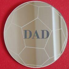 Espejos De Fútbol Grabado Personal (3mm Acrílico, Varios Tamaños Disponibles)