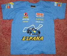 Niños Futuro Pilota Renault Azul Camiseta 3-4 Years F1 Top para Niños