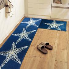 Non Slip Doormat Starfish Floor Mat Rugs Kitchen Home Decor Flannel Carpet