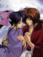 Rurouni Kenshin Samurai X Himura Kenshin Kamiya Kaoru Huge Print POSTER Affiche