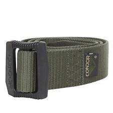 Condor Tactique uniforme ceinture ( BDU ) MILITAIRE Ceinture toile en vert S/M