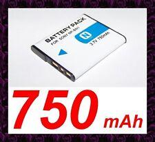 ★★★ 750 mAh ★★★ Batterie Rechargeable NP-BN1 Sony CyberShot DSC-TX55, DSC-TX100V