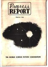 1953 WORLD SCI-FI CON Report #1 & #3 Forrest J Ackerman