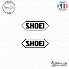 2 Stickers Shoei Decal Aufkleber Pegatinas SHO01 Couleurs au choix
