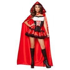 Little Red Riding Hood Costume Adult Sexy Halloween Fancy Dress