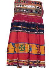 Bellydance Costume Handmade Boho Mirror Banjara Skirt M
