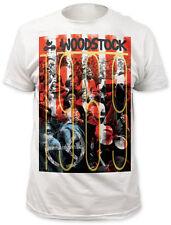 Woodstock 1969 Adult T-Shirt - Rock Folk Blues Jazz Music & Art Fair Festival