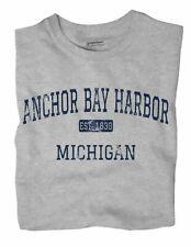 Anchor Bay Harbor Michigan MI T-Shirt EST