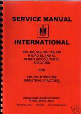 International 385/485/585/685/785/885 Tractor Manual