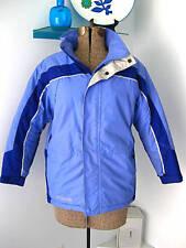 Columbia blue ski jacket parka 10/12