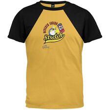 Simpsons - Mens Homer 7th Inning Jersey T-Shirt - Yellow