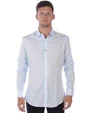 Camisa Daniele Alessandrini camisa -40% Hombre Azul C1507B7513600-21