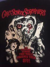 Girl School Screamers T-shirt Horror Gore Troma Toxic Avenger