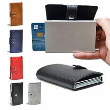 Porta tessere carte di credito uomo donna portafoglio in pelle