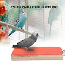 Paw Grinding Clean Toy Pet Parrot Perch Platform Pet Bird Perch Floor Play Stand