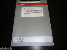 Werkstatthandbuch Audi A6 C5 Fahrwerk Eigendiagnose ABS ESP ab Baujahr 1998